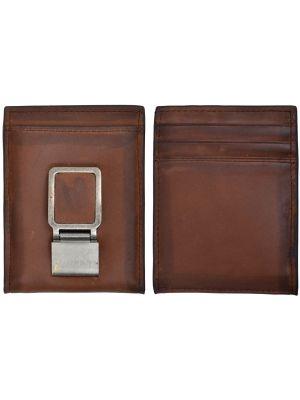 3D Brown Basic Bifold Wallet 3D-W664