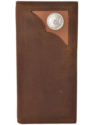 3D Brown Western Rodeo Wallet 3D-W775