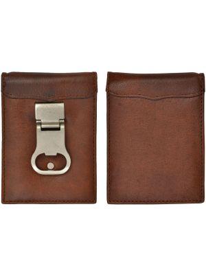 3D Brown Basic Money Clip 3D-W831