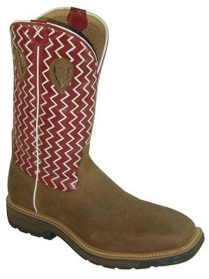 Twisted X Men's Lite Pull-On Work Boots 050J91