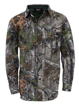 Walls Men's unting Cape Back Long Sleeve Shirt 56076