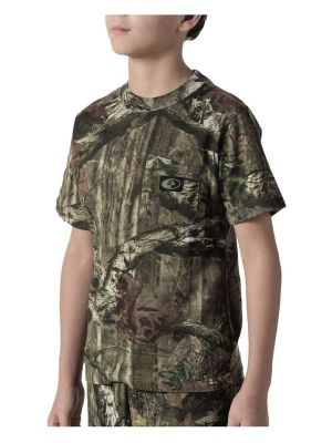 Walls Kid's Youth Hunting Short Sleeve Pocket Tee 56312