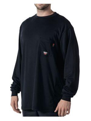 Walls Men's Flame Resistant Long Sleeve Crew Tee 56951