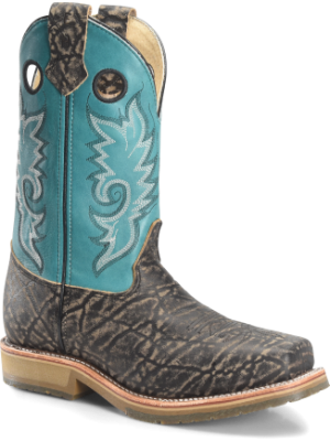 Double H Boot Mens 12 In Domestic Wide Square Toe Comp ICE Roper DH3569