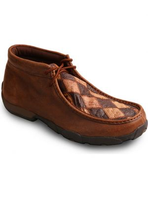 Twisted X  Brown Driving Moccasins Boots 2000210333