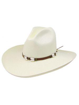 Resistol 6X CISCO Straw Cowboy Hat