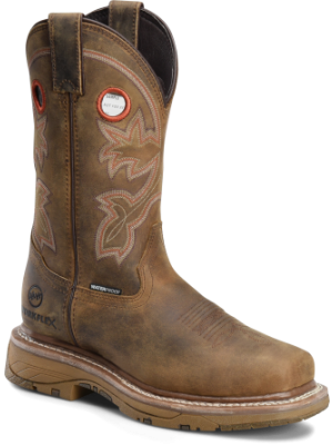 Double H Boot Womens 12 WorkFlex Waterproof Composite Wide Square Toe Roper DH5155