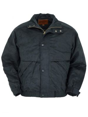 Outback Trading Company Men's Rambler Jacket 2319-BLK-SM