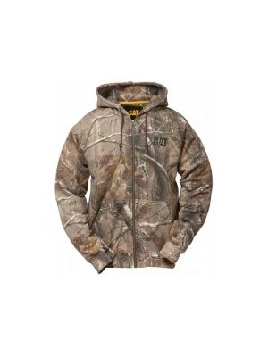Cat Realtree Camo Full Zip Sweatshirt CFZ001