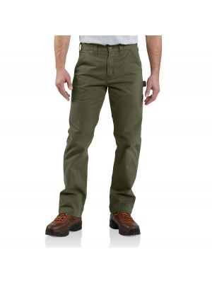 Carhartt Men's WASHED TWILL DUNGAREE - RELAXED FIT B324