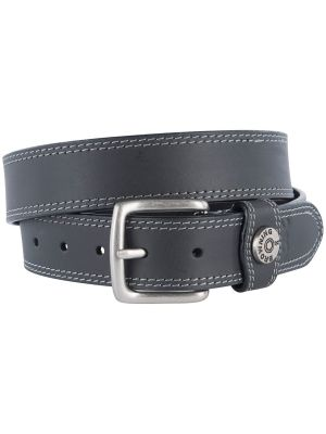 Browning MEN'S LEATHER SLUG BELT 07