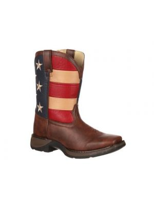 Durango Lil' Durango Kid's Patriotic Western Flag Boot BT245