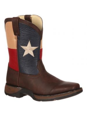 Durango Lil' Durango Kids' Texas Flag Western Boot BT246