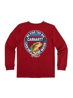 Carhartt BOYS LIVE ON THE WATER TEE CA8708