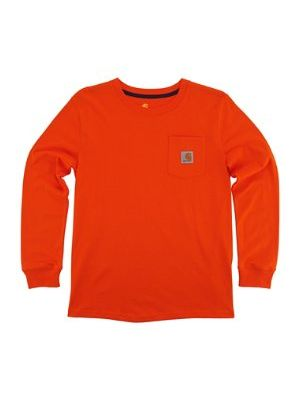 Carhartt BOYS COTTON POCKET TEE CA8719