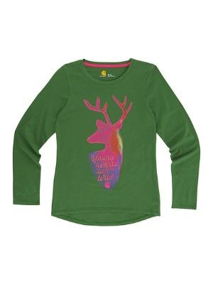 Carhartt GIRLS YOUNG HEARTS RUN WILD TEE CA9507