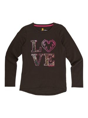 Carhartt WOMEN'S CAMO LOVE TEE CA9508