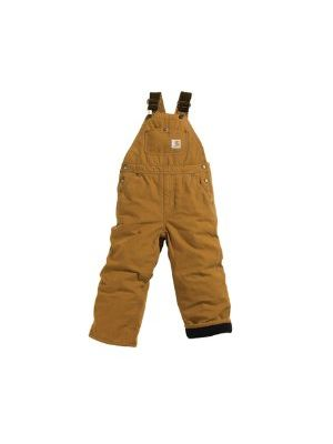Carhartt BOYS WASHED DUCK LINED BIB OVERALL CM8620