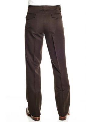 Circle S Men's Solid Polyester Dress Ranch Pant CP4793