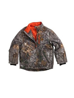 Carhartt BOYS CAMO JACKET/QUILTED FLANNEL CP8499