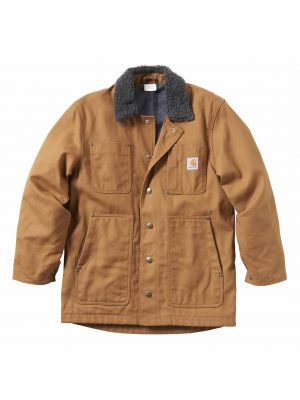 Carhartt Kid's FULL SWING® FLEECE-LINED CHORE COAT CP8539