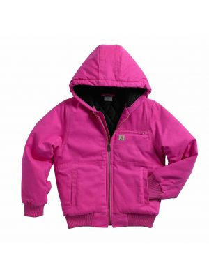 Carhartt Kid's WILDWOOD JACKET QUILTED FLANNEL-LINED CP9499
