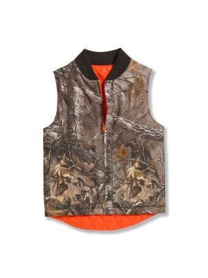Carhartt BOYS REVERSIBLE CAMO VEST CR8101
