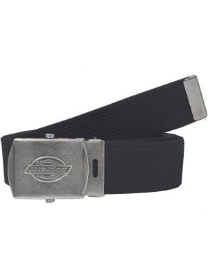 Dickies Mens Military Buckle Fabric Belt DI0302BK