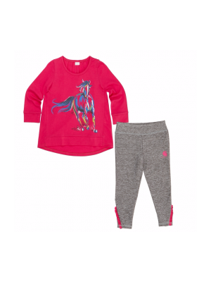 Carhartt GIRLS PAINTERLY HORSE SET CG9677
