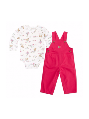 Carhartt GIRLS MEADOW HORSE OVERALL SET CG9669