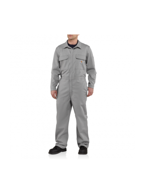 Carhartt Men's FLAME-RESISTANT TRADITIONAL TWILL COVERALL 101017