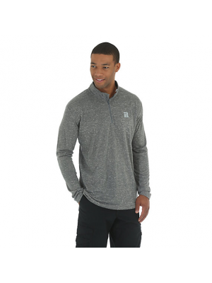 WRANGLER RIGGS WORKWEAR® 1/4 ZIP PERFORMANCE PULLOVER 3W730GY