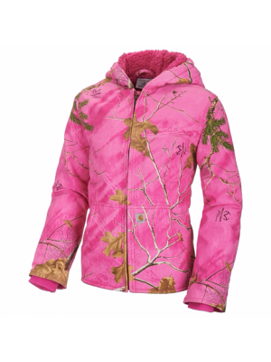 Carhartt GIRLS PINK REALTREE XTRA® REDWOOD JACKET CP9527