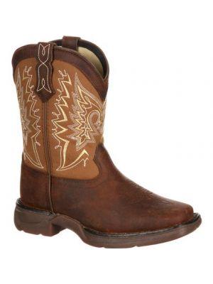 Durango Lil' Durango Little Kid Let Love Fly Western Boot DWBT099