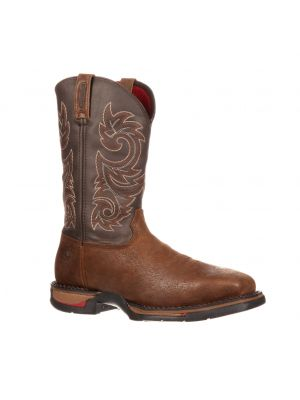 Rocky Long Range Steel Toe Waterproof Pull-On Boot 6654