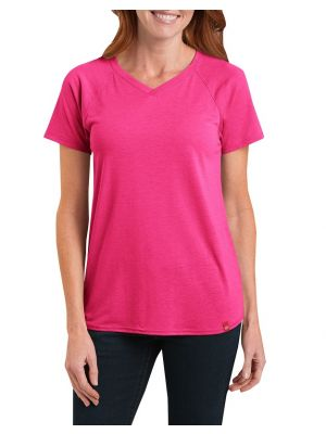 Dickies Women's Short Sleeve Knit Tee FS094