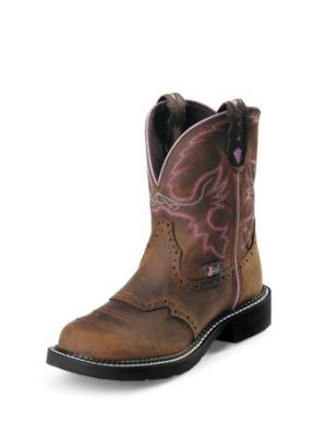 JUSTIN WOMEN'S AGED BARK JUSTIN GYPSY™ STEEL TOE WORK BOOTS WKL9980