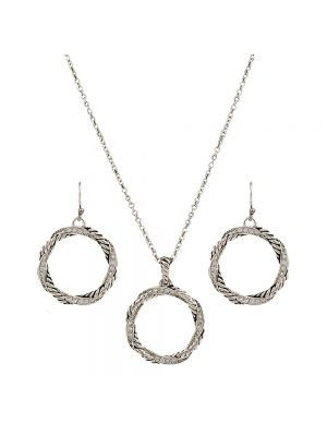 Montana Silversmiths Twisted Coil Jewelry Set JS2782