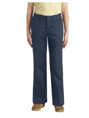 Dickies Girls' Classic Fit Boot Cut Leg Stretch Pant KP069