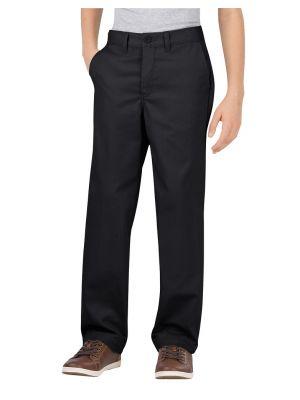 Dickies Boys FlexWaist® Classic Fit Straight Leg Ultimate Khaki Pant KP700