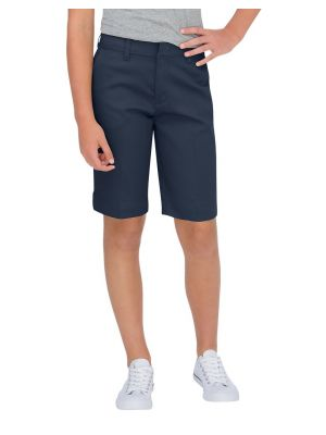 Dickies Girls' Classic Fit Bermuda Stretch Twill Short KR0014