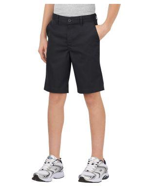 Dickies Boys' FlexWaist® Classic Fit Ultimate Khaki Short, 8-20 Husky KR0700