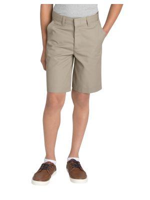 Dickies Boys' FlexWaist® Flat Front Short, 8-20 KR123