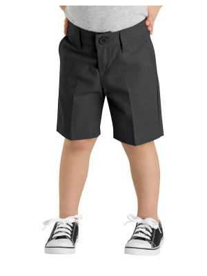 Dickies Girls' FlexWaist® Slim Fit Flat Front Short, 4-6x KR370