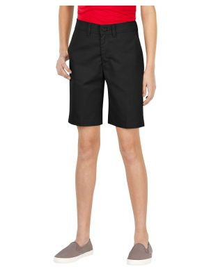 Dickies Girls' FlexWaist® Slim Fit Flat Front Short, 7-20 KR570