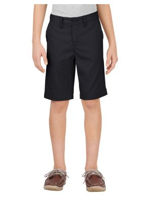Dickies Boys' Flex Slim Fit Ultimate Khaki Short KR701