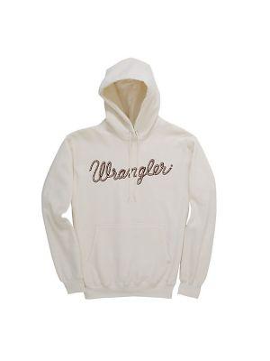 WRANGLER® LONG SLEEVE ROPE LOGO PULLOVER HOODIE LWK438T