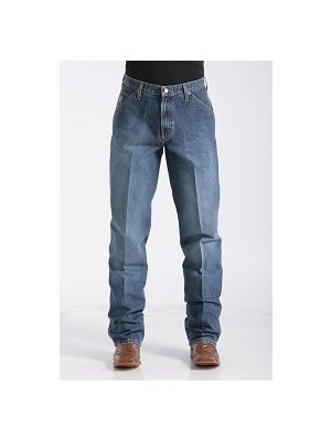 Cinch Mens Loose Fit Blue Label Jeans MB90434002