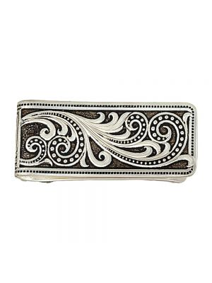 Montana Silversmiths Western Lace Whisper Money Clip MCL16RTS