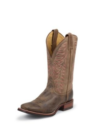 NOCONA WOMEN'S TAN VINTAGE COW LEGACY WESTERN BOOTS LD4051